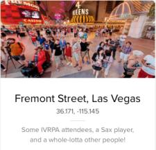 Fremont Street Experience Panorama