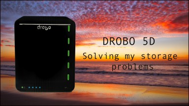 Drobo 5D:  Solving My Storage Problems