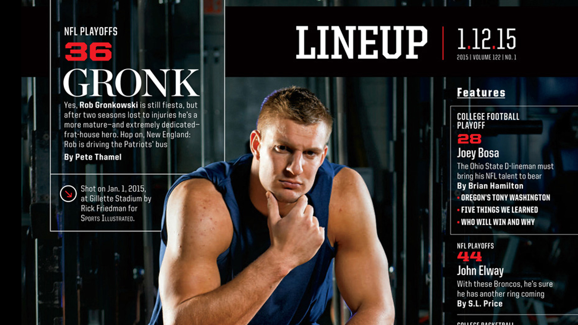 Photographing New England Patriots Gronk Photofocus