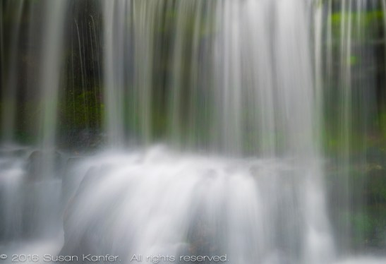 Abstract Waterfall