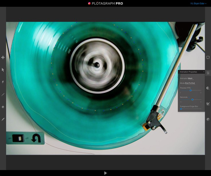 Plotagraph Animation Modes