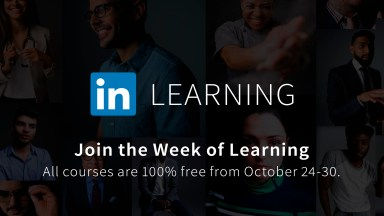 Introducing the FREE Week of Learning on LinkedIn