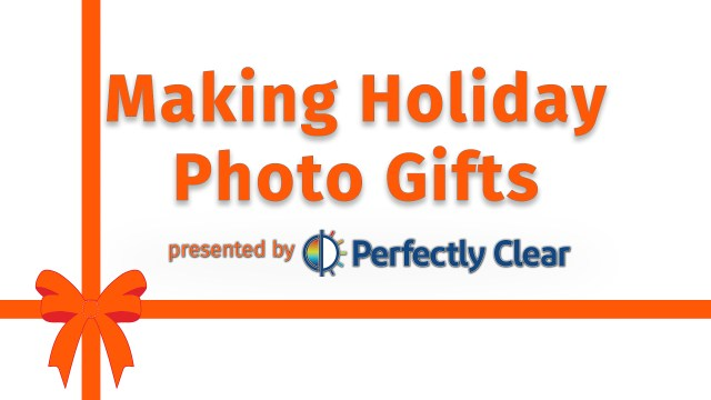 Live: Making Holiday Photo Gifts