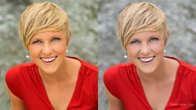 Blond side-by-side