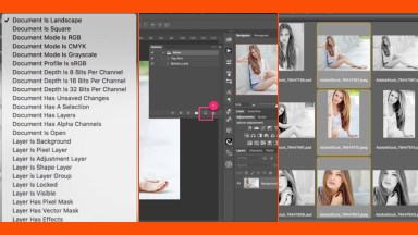 Saving Time with Photoshop Conditional Actions