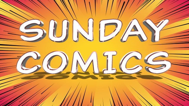Sunday Comics: Pro shopping