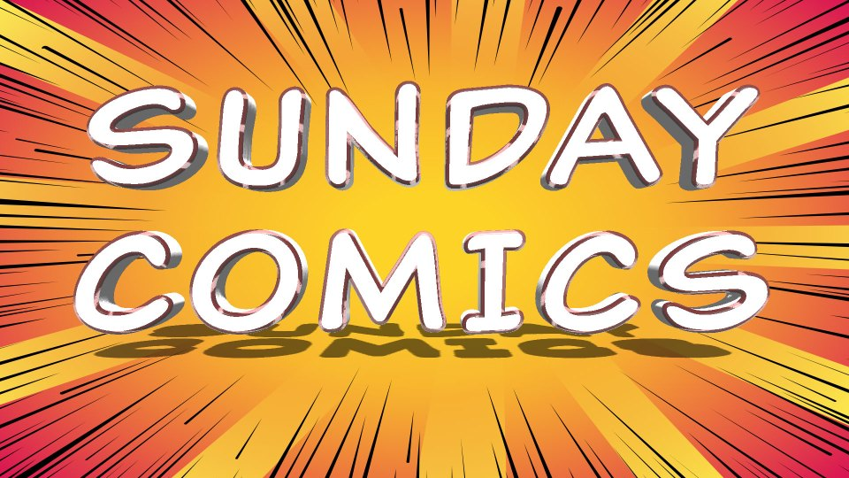 Sunday Comics: Mis-painted