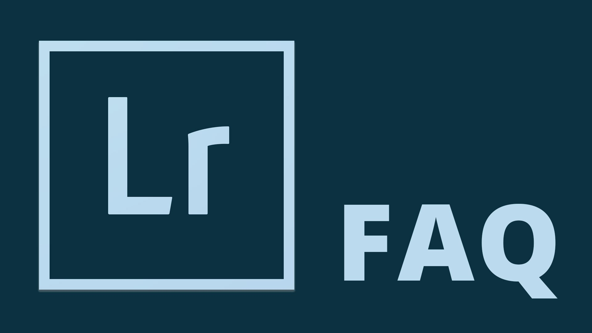 Lightroom FAQ: What are Smart Collections?