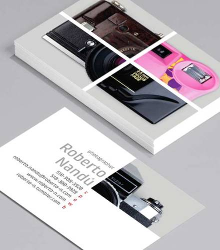 Photography Marketing: Business Cards to Set You Apart