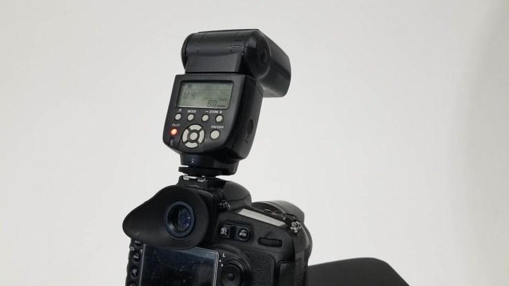 On Camera Flash