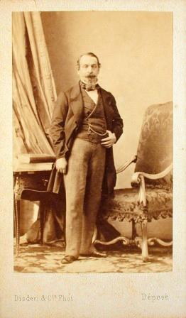 Disderis Carte De Visite Of Napoleon III