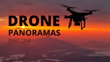 Shooting Panoramic Images from a Drone