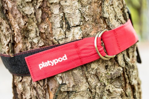 Platypod Ultra comes with a strap to attach it to trees and other stable platforms. ©2017 Kevin Ames