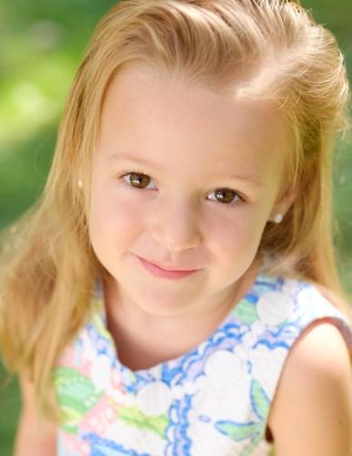 Headshot of young girl