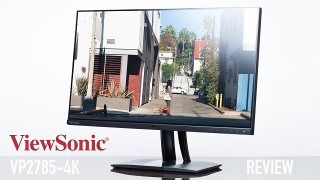 ViewSonic's VP 2785-4K is such a beast!