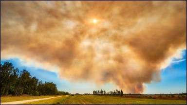 Photographing a Dangerous and Extreme Force of Nature, Wildfires!