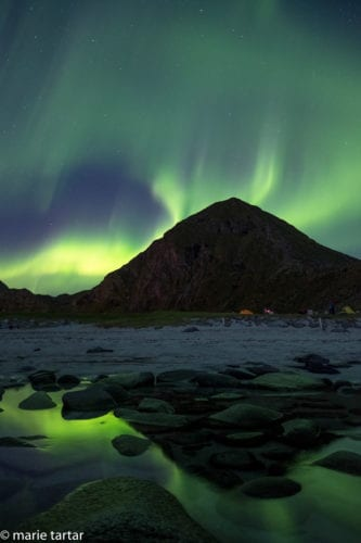 Northern Lights in Lofoten, Norway