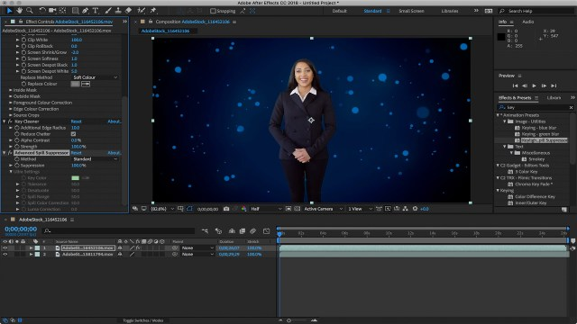How to Key Greenscreen Video in Adobe After Effects