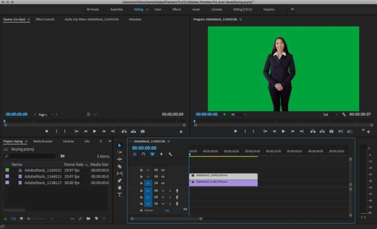 How to key greenscreen video in Adobe Premiere Pro | Photofocus