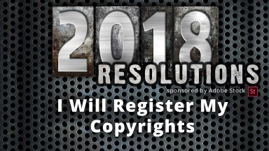 New Year's Resolutions for Photographers ~ Register My Copyrights!