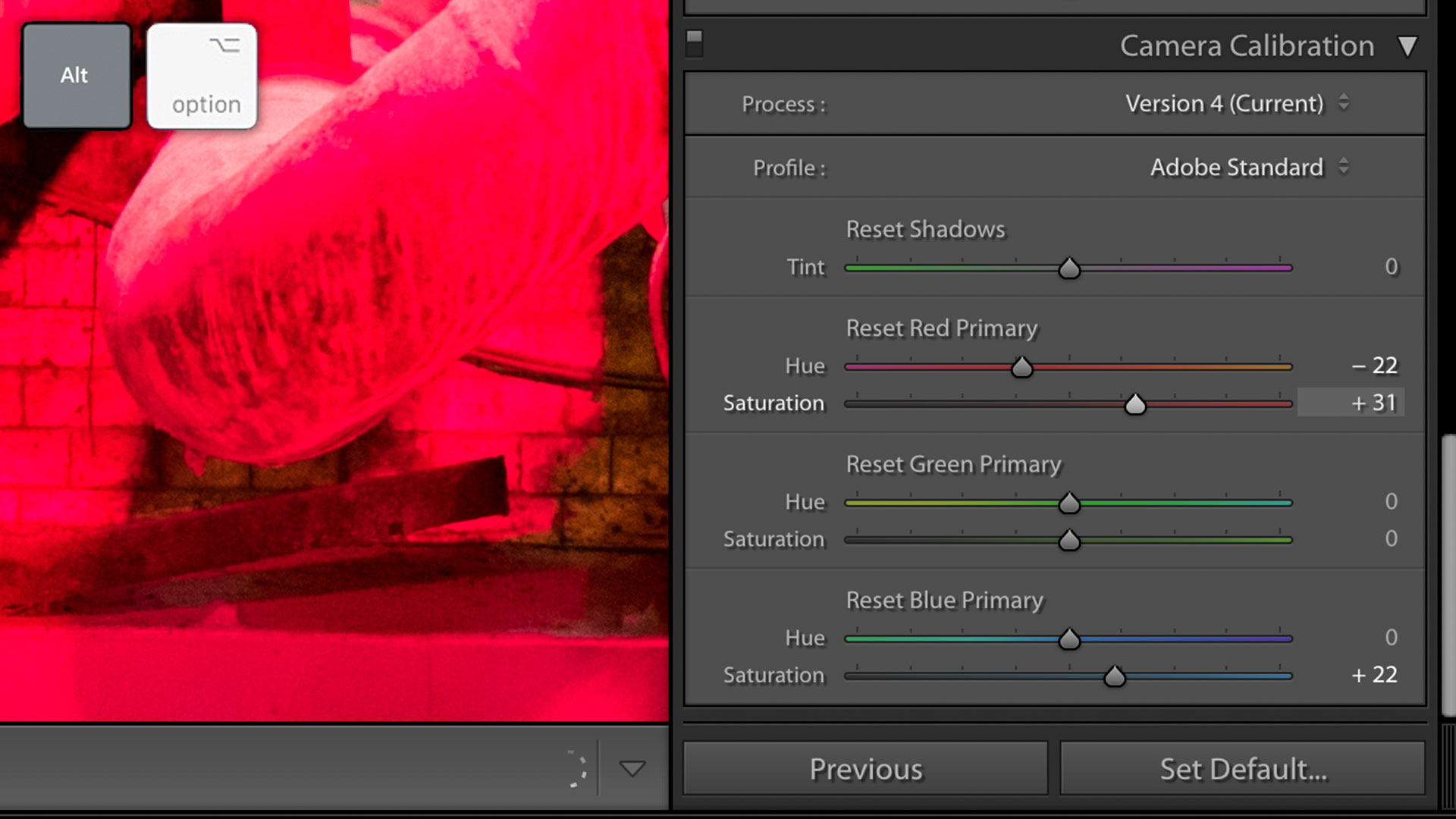 "Quick Tip: Use the ""Alt"" or ""Option"" Key to Preview Lightroom Classic Adjustments"