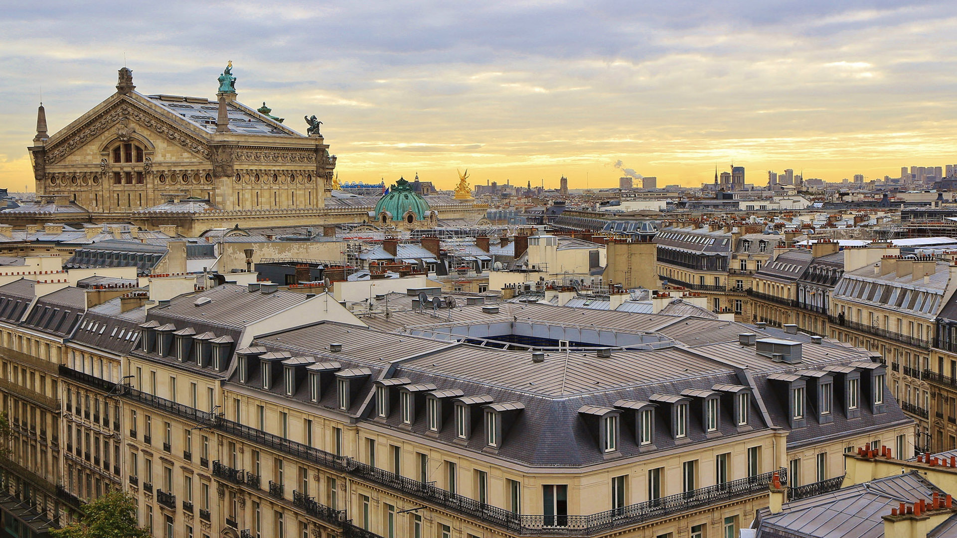 """Photofocus Photographer of the Day Gilles Letang with """"The Back of the Opera, Roofs of Paris."""" Travel"""