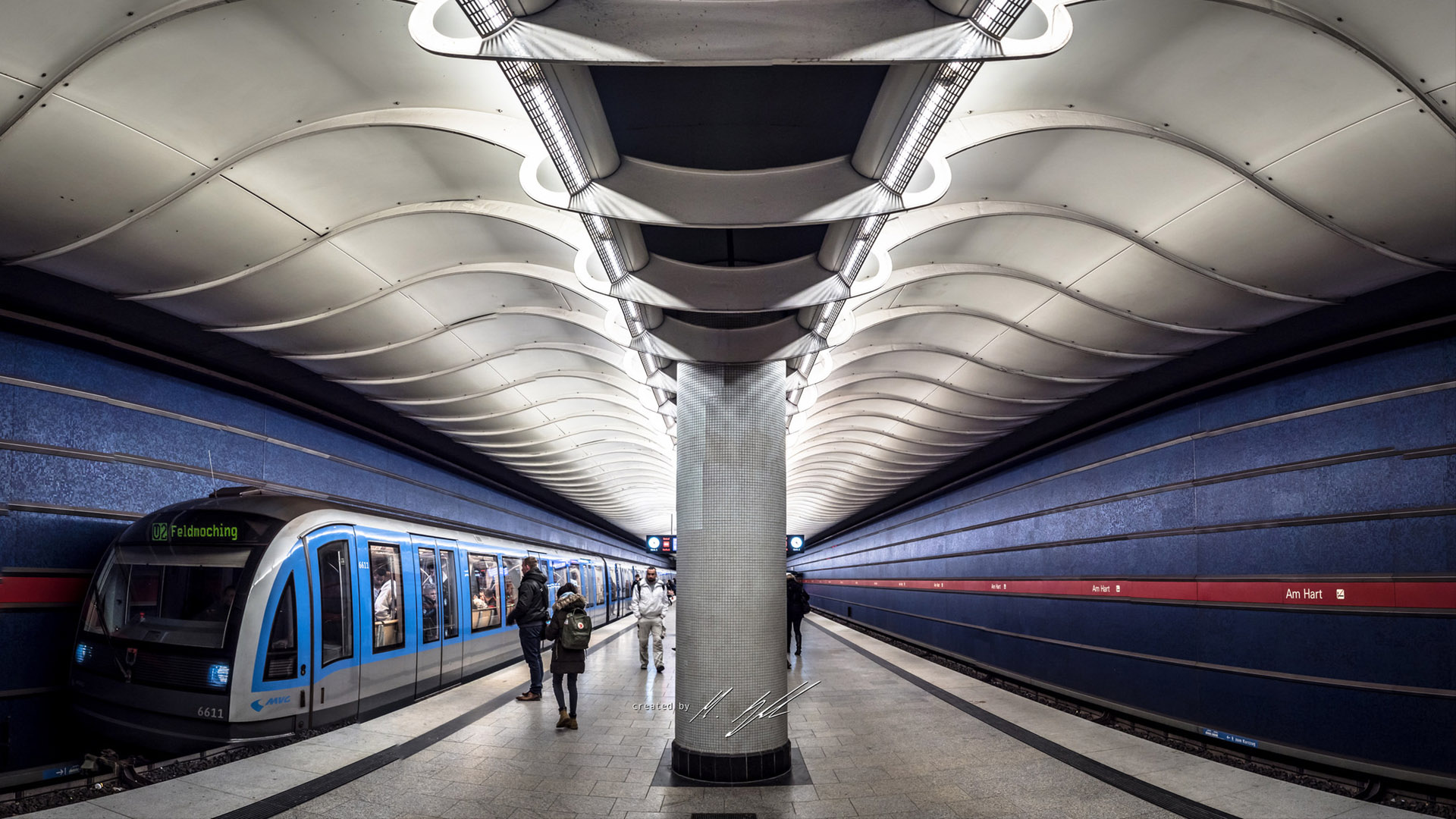 Photofocus Photographer of the Day Mark Meyer zur Heide for Underground Train. Travel