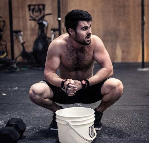 CrossFit athlete David Cyr-Maranda