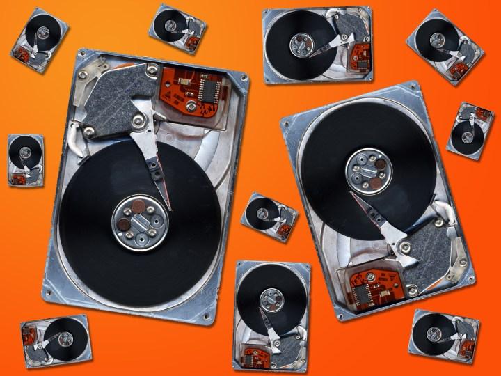 Multiple Hard drives