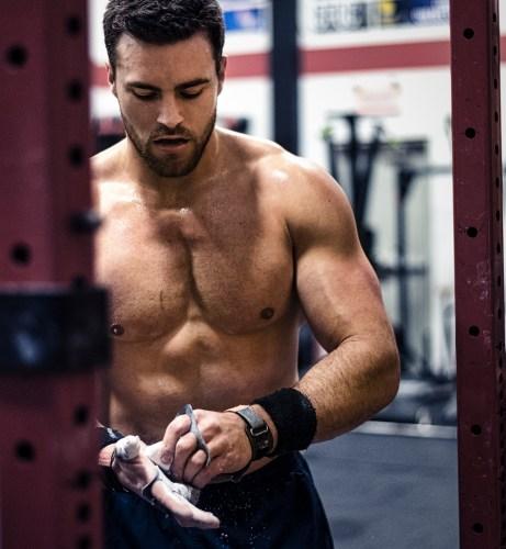 CrossFit Games athlete Alex Vigneault