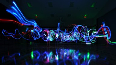 How to Make Light Painting Spirals the Easy Way