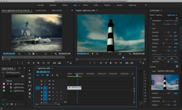 Color grading in Adobe Premiere Pro
