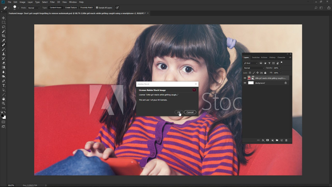 Don't forget to remove the copyright watermark | Photofocus