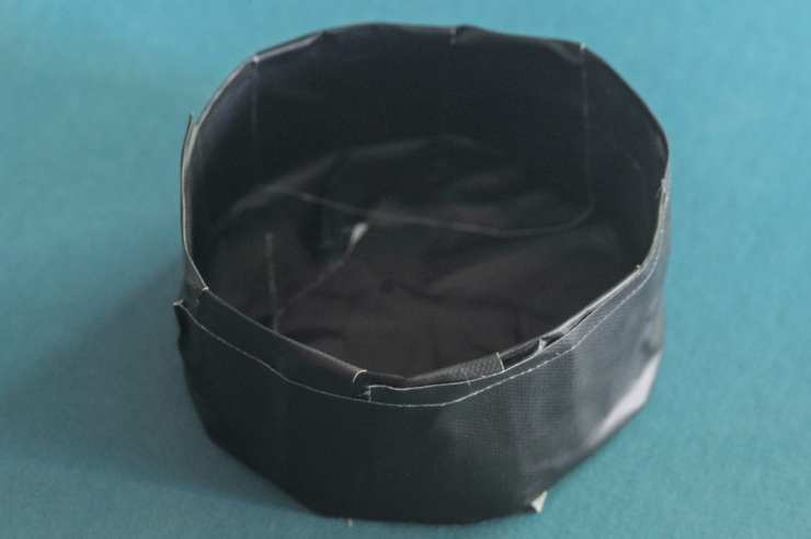 A homemade slip-on lens cover for mulit-shot photographs.