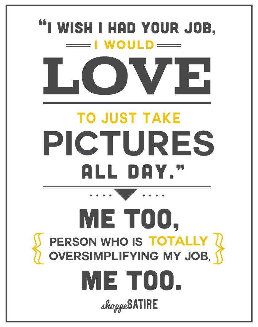 Sunday Comics: I wish I had your job!