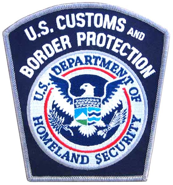 Arm patch US Customs and Border Patrol