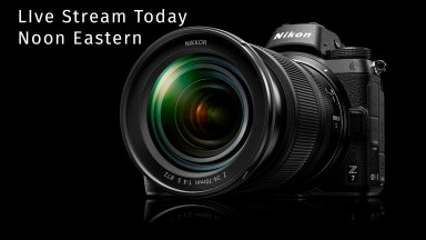 Watch the Nikon Z live event today at noon Eastern