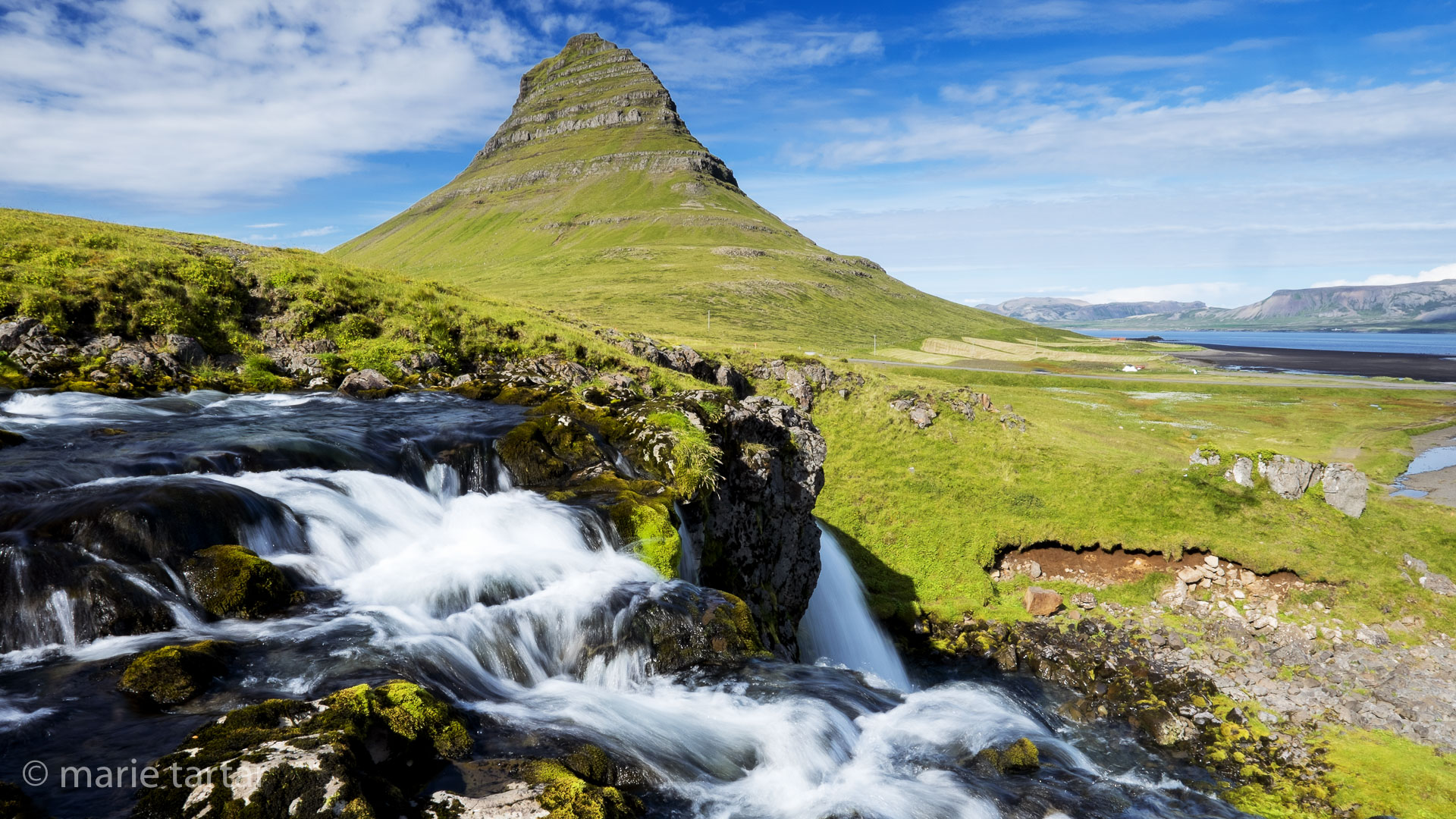Mount Kirkjufell on the Snaefellsnes peninsula of Iceland