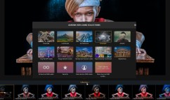 Aurora HDR 2019 Collections button