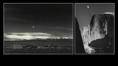 Ansel Adams photos: Moonrise, Hernandez, NM and El Capitan.
