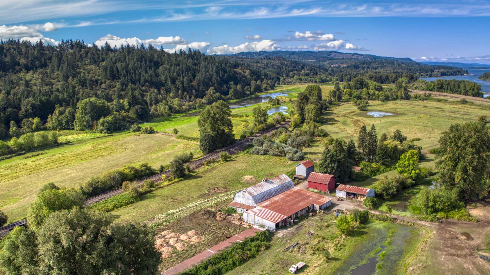 Drone aerials single exposure HDR with Aurora 2019, part 1