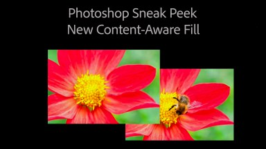 Video: Preview of Photoshop's updated Content Aware Fill
