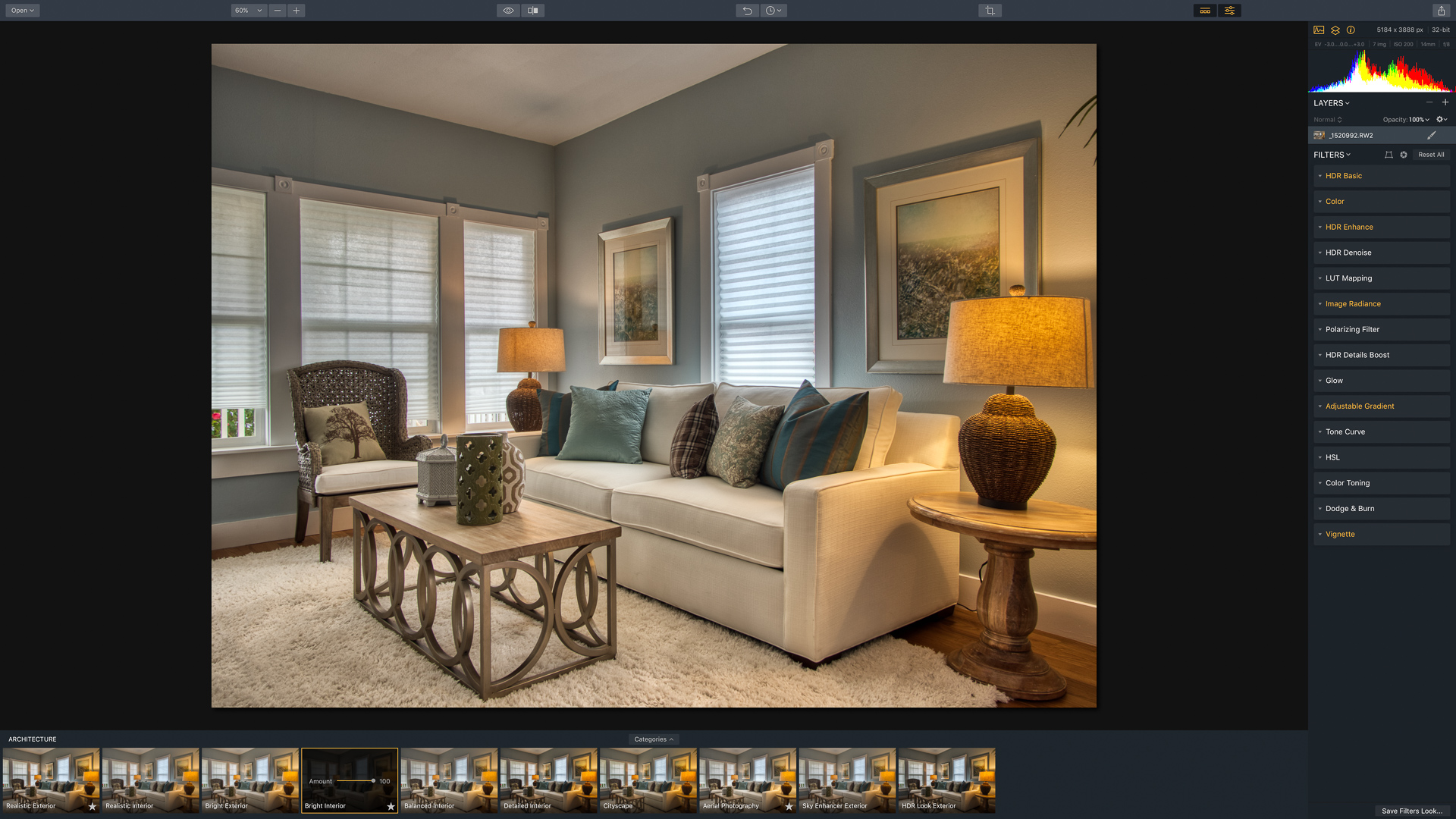 How to make real estate interiors with HDR in 9 steps