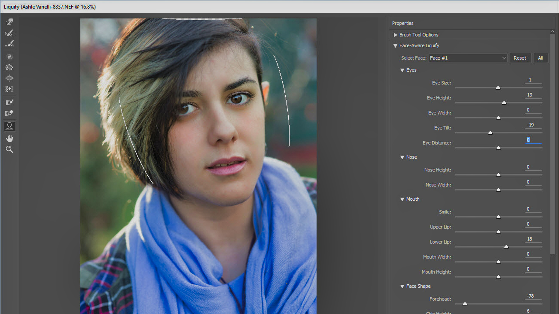 Quick Tip: Use Photoshop's Face-Aware Liquify to quickly slim a face