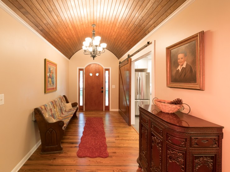 Adding warm light with the Tympani turned the dark chest into a vibrant accent. It helped the portrait of the owner too.