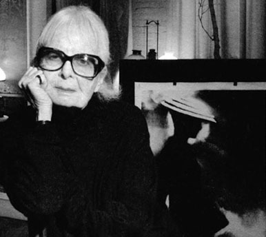 Lillian Bassman, fashion photographer with one of her prints