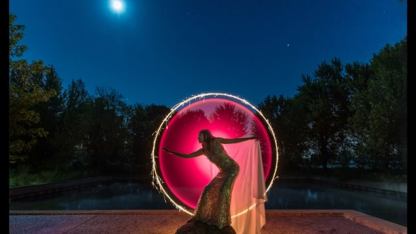 """Photographer of the Day Jeff Goldberg with """"Full Moon Glamour""""."""