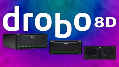 The Drobo 8D, 128 TB of protected storage is available now.