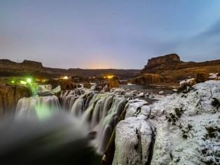 Snoshoe Falls, Idaho County, ID