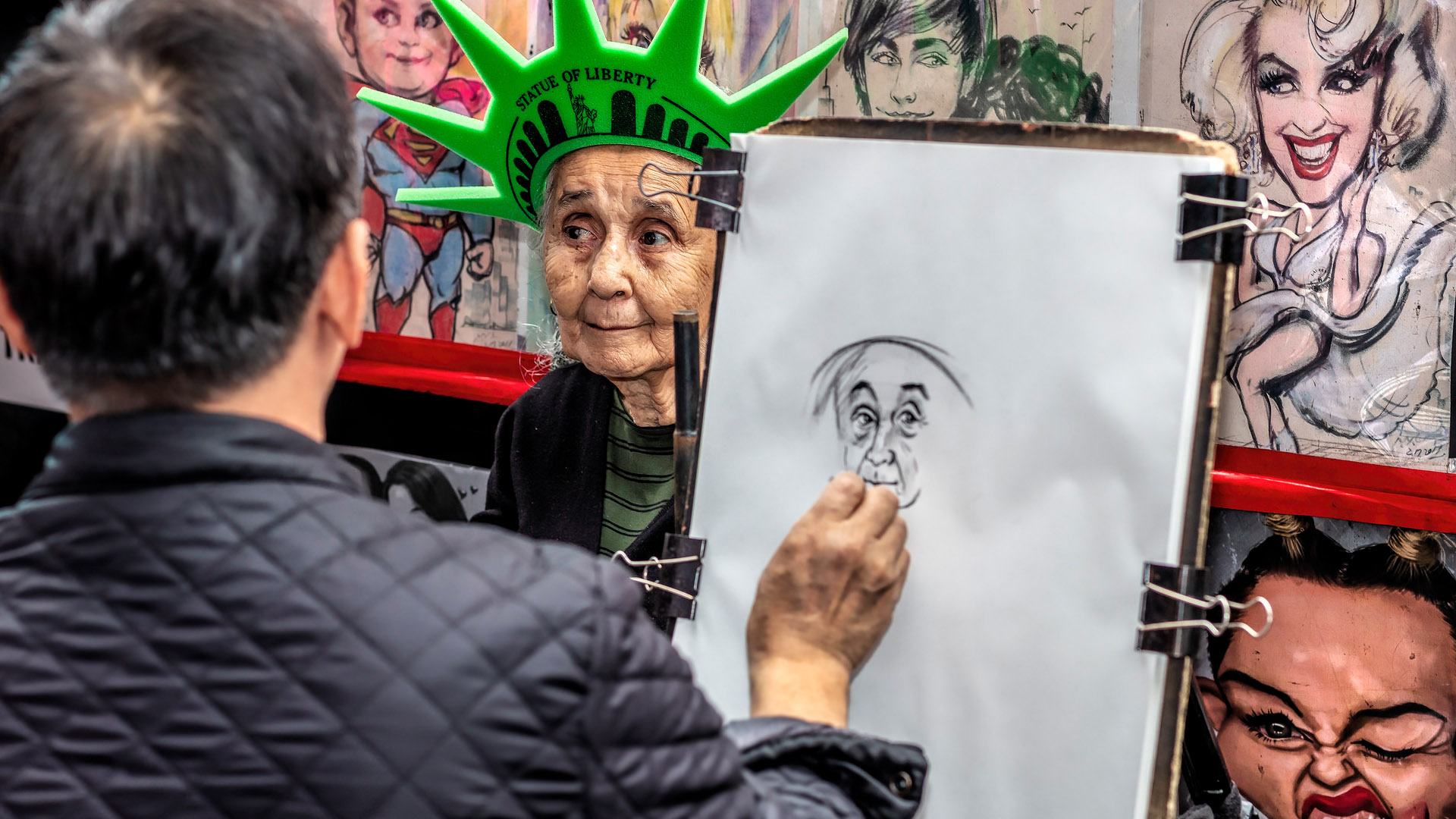 "Ian Lewry's ""Sitting for an Artist in NYC"" earns him the honor of being Photographer of the Day on Photofocus."